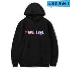 BTS Fake Love Love Yourself Tear Popular Fashion New 2018 Women Spring Hoodie Print Hot Sale Winter/Autumn Cool Men Sweatshirts Ariana Grande, Mens Sweatshirts, Hoodies, Bts Hoodie, Estilo Hippy, Popular Outfits, Fake Love, Album, Ems