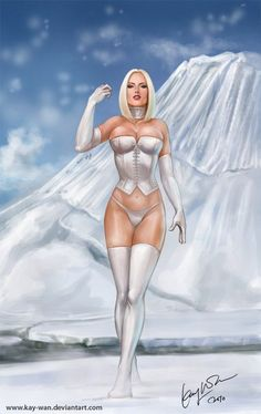Emma Frost...