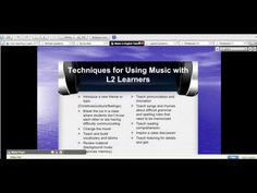 Music in English Teaching | Halina's Thoughts