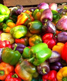 pretty peppers, the body cant make vit c so theses guys,brocolli,kiwi citris fruits,blueberries,