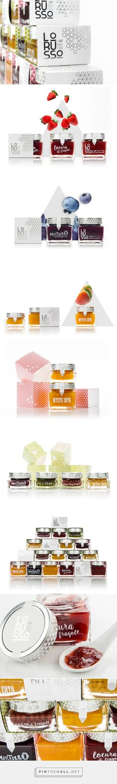 Lorusso Hearth Made Food via Cabello x Mure curated by Packaging Diva PD. Nice selection of gourmet patterned food packaging.
