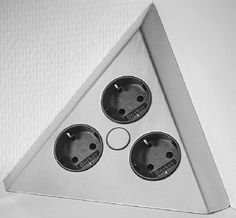 Ecksteckdose Mehrfachsteckdose Schuko Steckdose Küchensteckdose Energiebox 31321 in Heimwerker, Elektromaterial, Steckdosen | eBay