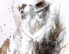 Woman drawing Giclee art print Charcoal Sketch Wall by IvMarART Charcoal Sketch, Woman Drawing, Modern Artwork, Figure Painting, Art Reproductions, Wall Art Prints, Giclee Print, Graphic Art, Original Artwork