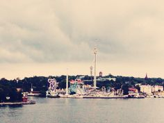 Åska över Stockholm
