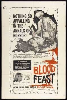Blood Feast by Herschell Gordon Lewis (1963)