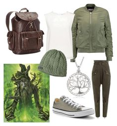 """""""TREEBEARD"""" by elysse-florence-bennett on Polyvore featuring Roberto Cavalli, W118 by Walter Baker, Finders Keepers, Converse, La Preciosa, Patagonia and Ropin West"""