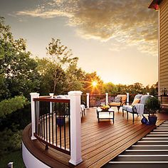 """""""Discover What Trex is All About and How We Are Different"""" -- """"Trex is the world's #1 decking brand and the inventor of wood-alternative composite decking. From the beginning we've been committed to helping you create a low-maintenance, high-performance backyard retreat that can handle the outdoors without depleting them, and will do so for decades. Because your weekends should be spent relaxing on your deck, not repairing it."""""""