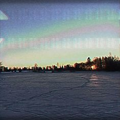 It is freezing cold outside#speciaali #90s #vhs #glitch #freezing #cold #winter #potd #photography #maisemakuva #sunset