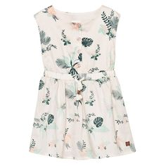 Carrément Beau Floral Dress with Tie Waist 45L