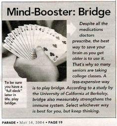 Why play bridge