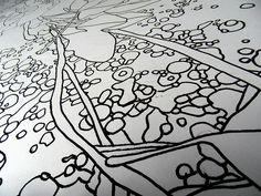 MAMIE WALL - Detail  by WILLPOWER STUDIOS   WILLIAM ISMAEL   www.WillpowerStudios.com