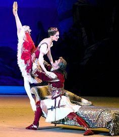 """Svetlana Zakharova as Aspicia in """"Pharaoh's Daughter"""" /Bolshoi Ballet"""
