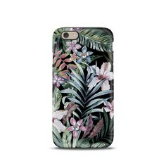 Beautiful case for your iPhone with tropical flowers. >>PLEASE NOTE: if the main photo is different from your phone model you can choose your model
