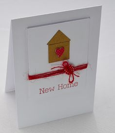 clearly besotted home sweet home stamp set die. Welcome Home Cards, New Home Cards, Wedding Shower Cards, Housewarming Card, Scrapbook Cards, Scrapbooking, Card Sketches, Hobbies And Crafts, Anniversary Cards