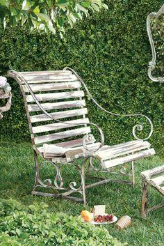 Loren Garden Chair - Antique Garden Chair