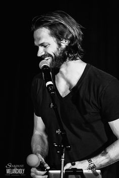 Jared looks good in black and white.
