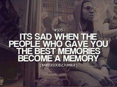 Sad memories):