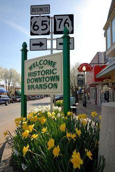 Historic Downtown Branson They still have a five and dime store. Really unique place to visit