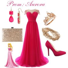 Prom dress Aurora. (Sleeping beauty)