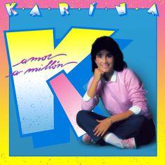 Carátula Frontal de Karina (Venezuela) - Amor A Millon