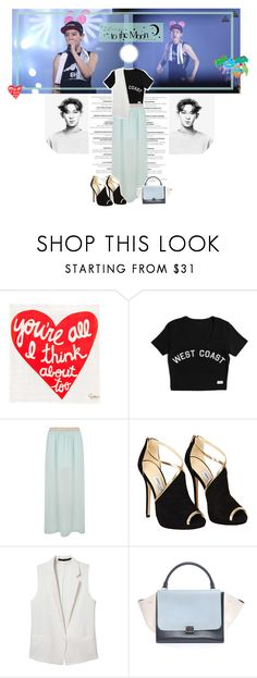 """""""300. My Lovely Park ChanYeol~"""" by devaresti ❤ liked on Polyvore featuring WALL, Jimmy Choo, uniform, lovely, EXO, chanyeol and koreanboy"""