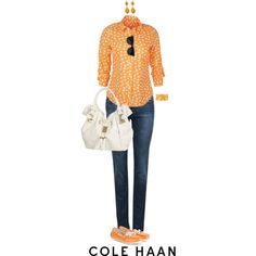 """Hit the Road With Cole Haan: Contest Entry"" by angela-windsor on Polyvore"