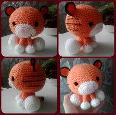 little orange tiger
