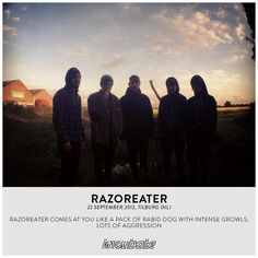 Razoreater comes at you like a pack of rabid dog with intense growls; lots of aggression