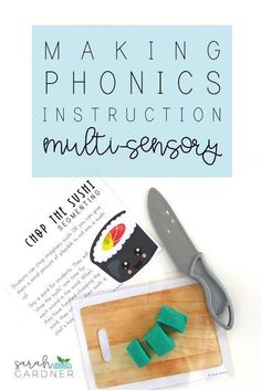 What is mult-sensory learning? Why is it important to incorporation multi-sensory learning strategies into our instruction? Find out what it is, why you need it, and snag these FREE Multi-Sensory Phonics Kits on the blog. Phonics Lessons, Sound Words, Multi Sensory, Auditory Processing, Adding And Subtracting, Picture Cards, Short Vowels, Small Groups, Learning Activities