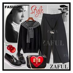 """""""www.zaful.com/?lkid=4178"""" by esma178 ❤ liked on Polyvore featuring Oris, Schumacher, Tony Moly, Christian Louboutin and zaful"""
