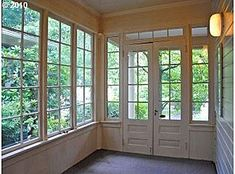 Love the windows and doors in this room.