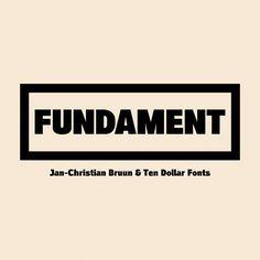 Ten Dollar Fonts - Fundament , $10.00 (http://www.tendollarfonts.com/fundament/)