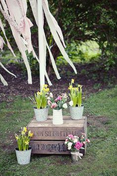 Ideas Originales para una Decoraci�n de Boda Campestre. Imagen: Rock My Wedding
