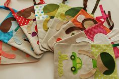 pyjama bags - would be great for when the kids are at an aunty's!