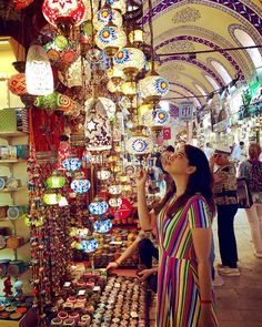 """Instagram'da Sri Satya Kandula: """"Strolled into a fairytale!! 💫 ✨ ✨ One can literally spend hours getting lost in the countless alleys of the Grand Bazaar of Istanbul. It…"""" Grand Bazaar, Fairytale, Istanbul, Times Square, Lost, Fairy Tail, Fairytail, Fairy Tales, Adventure Movies"""