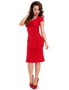 Steady Allison Red Wiggle Dress