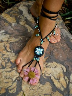 Barefoot sandals...pretty!