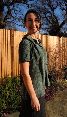 The Sarah Shirt - pattern tester versions! – By Hand London