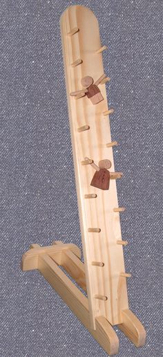 Wooden SLIDING SARIE toy made by Ole Houtved Andersen