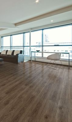 Expona SimpLay PUR loose lay luxury vinyl tile flooring in Dark Country Oak