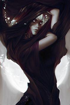 Exellero #dark #fantasy #digital #art