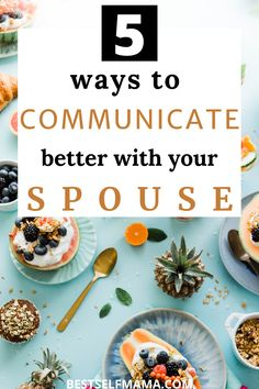 These 5 tips are sure to help you discover how to communicate better with your spouse starting today! Communication is key to the success of any and every relationship so these communication tips are a must read. #marriage #marriagetips #communication #howtocommunicatebetterwithyourspouse #healthycommunication #communicationtips Best Marriage Advice, Healthy Marriage, Marriage Goals, How To Communicate Better, Communication Is Key, Strong Relationship, Better Health, How To Better Yourself, 5 Ways