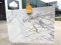 New York Marble, honed, block no 1202. Available at Marable Slab House in Sydney #marable #marble #newyorkmarble