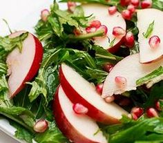 Pomegranate And Apple Salad Recipe by festivalfoods | ifood.tv