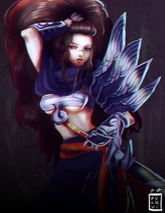 Yasuo? by Duckui on DeviantArt