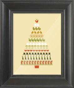 Twelve Days of Christmas #printable
