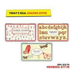 #50deals day 30 - 7th June. Today gets our stamp of approval - head in-store to get stamping, vintage-style.