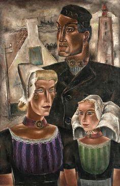 Reimond kimpe, family in West-Kapelle, 1946