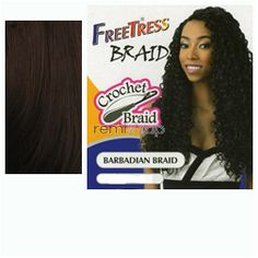 Sat Sep 26, 2015 - #3: Freetress Barbadian Braid  - Color 33 - Synthetic Braiding