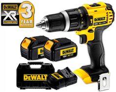 DeWalt 18V Lithium Ion XR Compact Driver Hammer Drill Kit DCD785L2